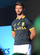 Asics launch of new Springbok jersey 24 April 2014