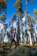 Outdoor sport in North Karelia (Finland)