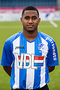 EINDHOVEN - Persdag FC Eindhoven , Voetbal , Seizoen 2015/2016 , Jan Louwers stadion , 22-07-2015 , Junior Lima Dos Santos