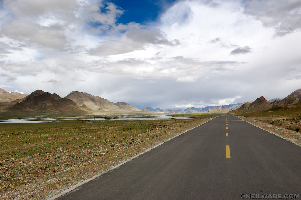 The Friendship highway stretches from Lhasa, Tibet to Kathmandu, Nepal.  It crosses the roof of the world and some of the most remote regions on Earth.