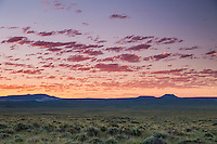 Dawn in the Red Desert of Wyoming