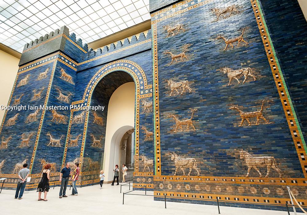 Ishtar Gate in Pergamon Museum, Museum Island, Berlin, Germany
