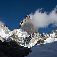 Cerro Poincenot and Mt. Fitz Roy