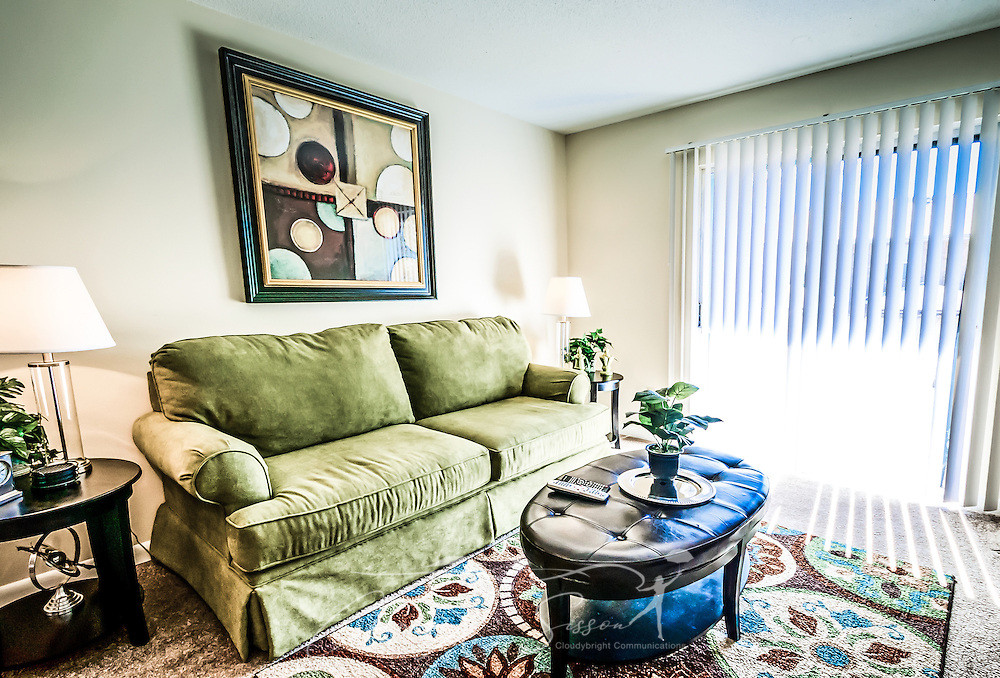 Living Room At Autumn Woods Apartments In Mobile Alabama Carmen K Sisson Photographer