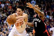 NBA: Toronto Raptors at Phoenix Suns//20161229