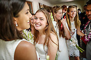 SHOT 6/2/16 11:09:30 AM - Colorado Academy Class of 2016 Commencement ceremonies at the Denver, Co. private school. The school graduated 88 seniors this year and the event capped a week filled with awards, tributes, and celebrations for the outgoing senior class. (Photo by Marc Piscotty / © 2016)