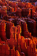 Image of Bryce Canyon National Park, Utah, American Southwest, Rock formation called Wall Street