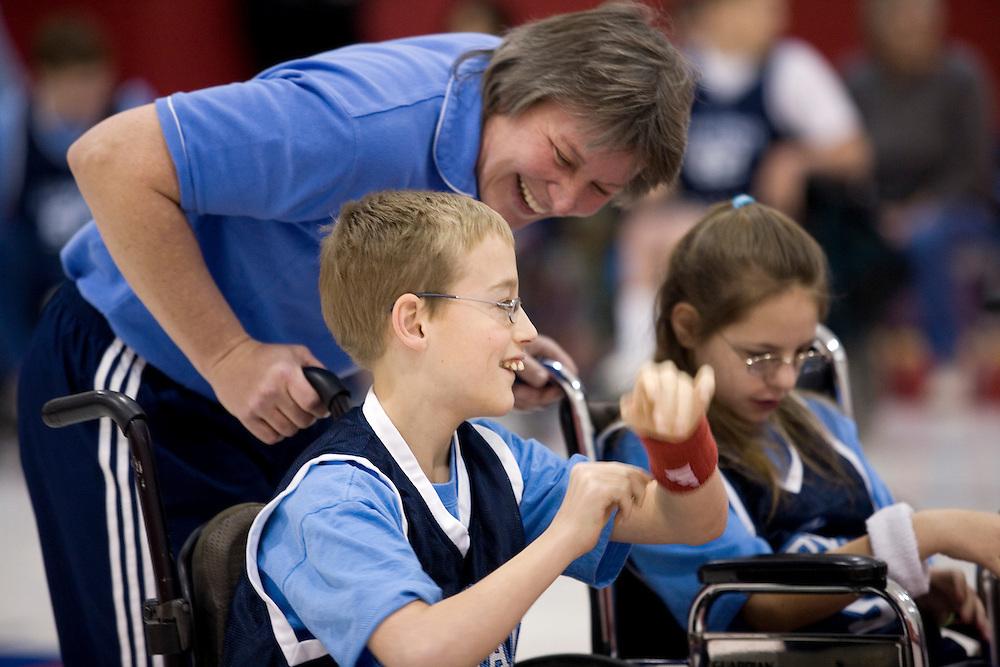 Wheelchair Basketball Game Wheelchair Basketball