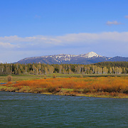 Oxbow Bend - South View, WY