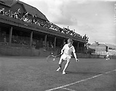 Tennis in Ireland in the 1950s