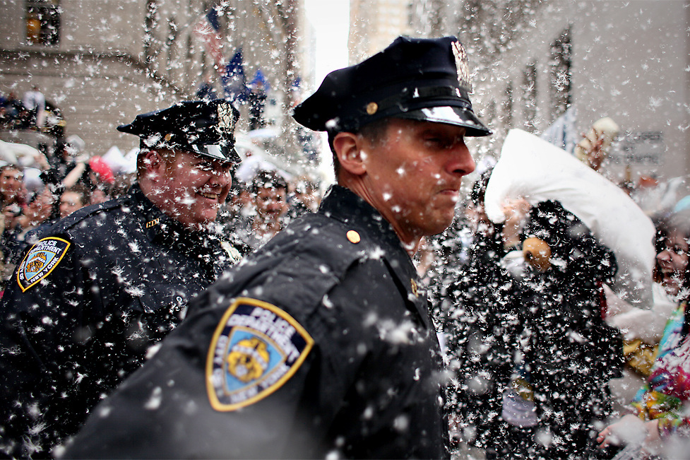 Wall Street Pillowfight