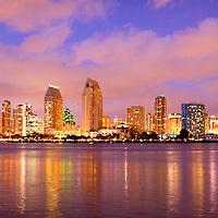 Photo of San Diego from Coronado Island at Centennial Park, California