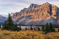 Early morning during autumn in Banff National Park