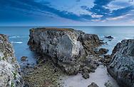 Cote Sauvage at Batz sur Mer, western France.<br /> Picture date: Friday July 17, 2015.<br /> Photograph by Christopher Ison &copy;<br /> 07544044177<br /> chris@christopherison.com<br /> www.christopherison.com