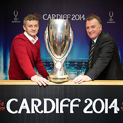 140217 UEFA Super Cup Launch Cardiff