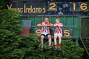 31/7/2013<br /> <br /> DJ Carey and his son Sean pictured at the Young Irelands grounds in Gowran Co Kilkenny.<br /> Picture Dylan Vaughan.