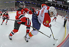 February, 11, 2012: Florida Panthers at New Jersey Devils