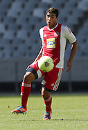 CAPE TOWN, South Africa - Saturday 26 January 2013, Travis Graham of Ajax Cape Town during the soccer/football match Grasshopper Club Zurich (Switzerland) and Ajax Cape Town at the Cape Town stadium..Photo by Roger Sedres/ImageSA