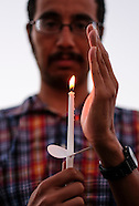 Candlelight vigil for peace and nuclear disarmament