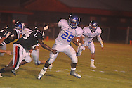 Water Valley's Jeoffrey Gordon (29) vs. Nettleton in Nettleton, Miss. on Friday, October 12, 2012. Water Valley won.