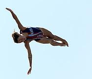 HYER TIRA Tara USA<br /> FINA High Diving World Cup 2014<br /> Kazan Tatartsan Russsia RUS Aug. 8 to 10 2014<br /> Kazanka River  Day00 - Aug.7 <br /> Photo G. Scala/Deepbluemedia