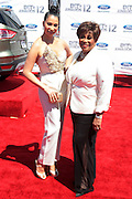 June 30, 2012-Los Angeles, CA : (L-R) Recording Artist Knoelle Higinnsen and Vy Higginsen, BET Honoree attend the 2012 BET Awards held at the Shrine Auditorium on July 1, 2012 in Los Angeles. The BET Awards were established in 2001 by the Black Entertainment Television network to celebrate African Americans and other minorities in music, acting, sports, and other fields of entertainment over the past year. The awards are presented annually, and they are broadcast live on BET. (Photo by Terrence Jennings)