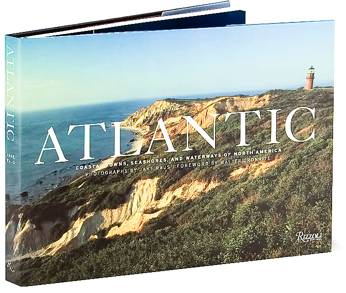 """""""Atlantic"""" Limited Edition  book Signed by Jake Rajs, Introduction by Walter Cronkite, Published by Rizzoli"""