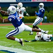 Duke vs Miami Football Oct 18th 2008