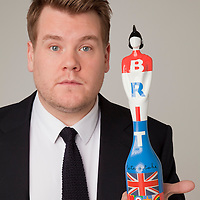 The BRIT Awards 2012 Host James Corden