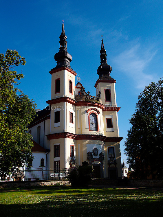 Piarist Church in Litomysl, Czech republic.