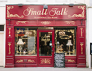 Commercial Interiors photography, Small Talk Tea Room, Perth, Scotland