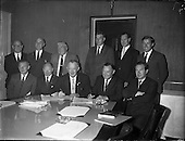 1961 - Sisks Sign Contract For Liberty Hall