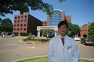 Dr. Son Lam at Baptist Memorial Hospital-North Mississippi in Oxford, Miss. on Wednesday, May 5, 2010.