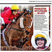 PIC BY GEOFF ROBINSON PHOTOGRAPHY 07976 880732.<br /> <br />  cuttings newspaper front pages