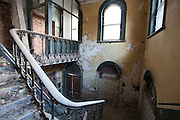 Old Stairwell to Waiting Room (later Billiard Hall) Peckham Rye Station designed by Victorian Architect, Charles Henry Driver  in 1865.
