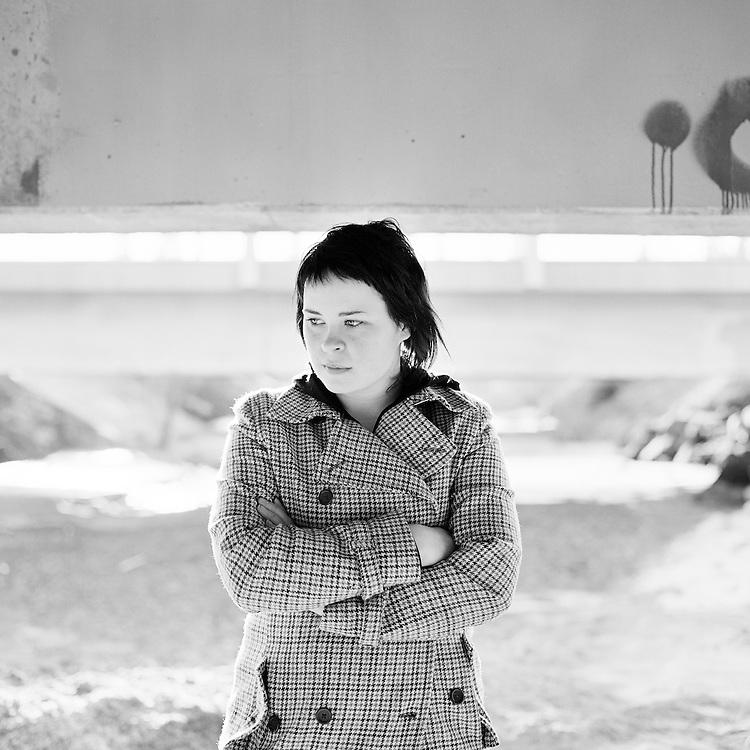 ANCHORAGE, ALASKA - 2006: Katie Medred.