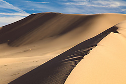 """""""Ibex Dunes 1"""" - Abstract photograph of Ibex Sand Dunes in Death Valley, California."""