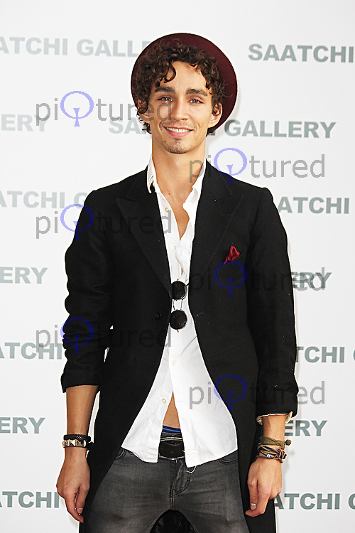 Robert Sheehan, Pangaea: New Art from Africa & Latin America - Private View, Saatchi Gallery, London UK, 01 April 2014, Photo by Brett D. Cove