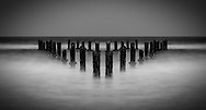 Triangle - pilings in the water