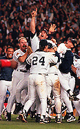 New York Yankees World Series victory over Atlanta Braves. Yankee Stadium. Bronx, NY. October 1996.