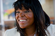 Mayor of Compton, Aja Brown.