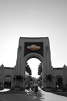 A general view of the entrance to Universal Studios.