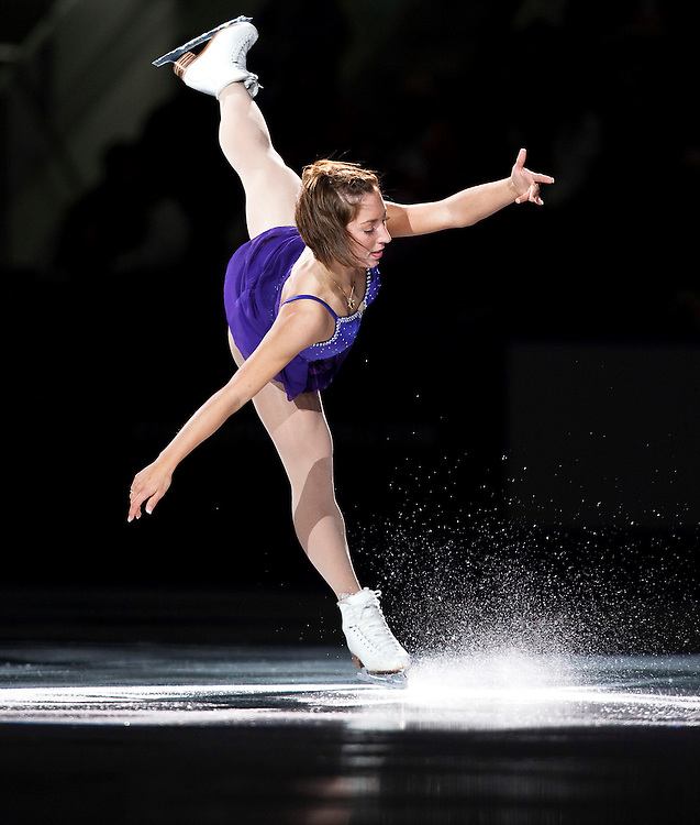 20101031 -- Kingston, Ontario -- Amelie Lacoste of Canada skates in the exhibition gala at Skate Canada International in Kingston, Ontario, Canada, October 31, 2010. <br /> AFP PHOTO/Geoff Robins