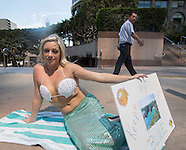 PETA protest against Japan killing dolphins
