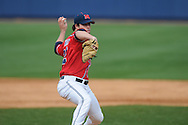 Ole Miss pitcher Austin Wright (22) at Oxford-University Stadium in Oxford, Miss. on Sunday, March 6, 2010. Tulane won 3-1.