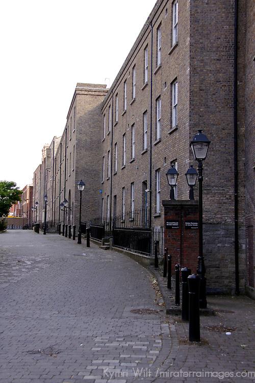 Europe, Ireland, Dublin. Dublin street.