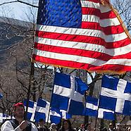 NY435A Greek parade