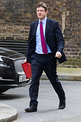Downing Street, London, March 8th 2016. Communities Secretary Greg Clark arrives for the weekly UK cabinet meeting at Downing Street. &copy;Paul Davey<br /> FOR LICENCING CONTACT: Paul Davey +44 (0) 7966 016 296 paul@pauldaveycreative.co.uk