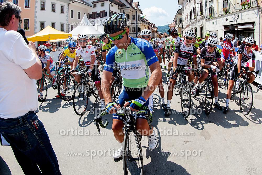 Sven Tuft of Orica-Green Edge during 3rd Stage Skofja Loka - Vrsic (170 km) at 20th Tour de Slovenie 2013, on June 15, 2013, in Skofja Loka, Slovenia. (Photo by Vid Ponikvar / Sportida.com)