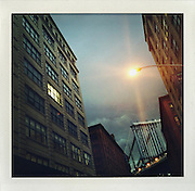 Dumbo, Brooklyn, New York, night...From the series Fake Polaroids.http://www.stefanfalke.com/.